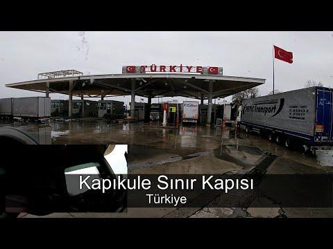 Kapıkule Sınır Geçişi Tüm Peronlar BG TR Gümrük Sahaları