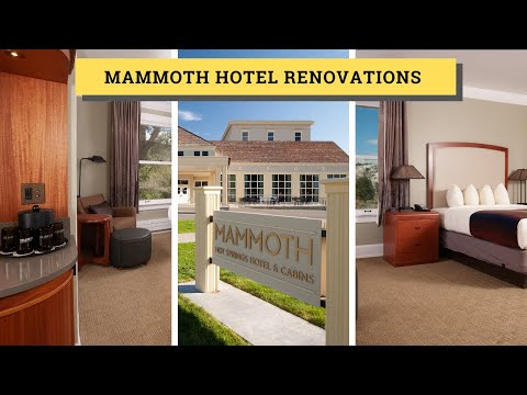 Mammoth Hotel Renovations