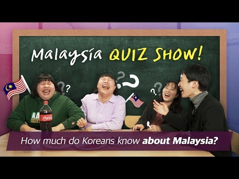How much do Korean friends know about Malaysia?! | 말레이시아 퀴즈