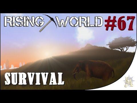 Rising World: Survival #67 - Lighthouse: Upper Living Quarters