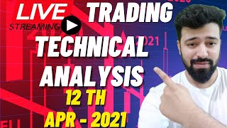 12th April Live Intraday Trading Bank Nifty Option Analysis #live #livetrading #nifty #banknifty