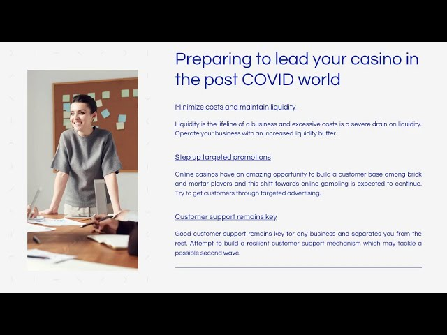 Webinar: How to open your own Online Casino - COVID-19 UPDATE