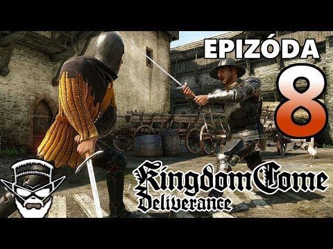 SEDLÁK A ŠLACHTIC ! - Kingdom Come Deliverance / 1080p 60fps / CZ/SK Lets Play / # 8
