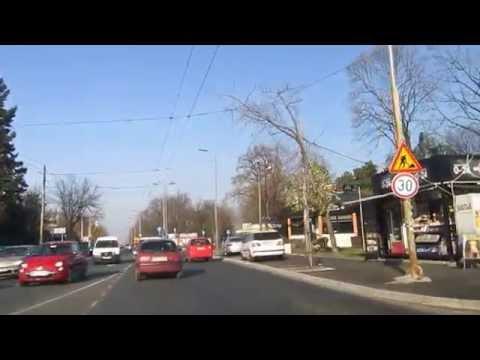 Vožnja kroz Beograd (Banjica-Dedinje)