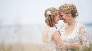 Kate & Kathy's Thompson Island Wedding