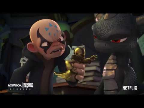 MEAWW Exclusive: Netflix's Skylanders Academy Season 3 [Sneak Peek] Dark  Spyro Makes Kaos Jealous