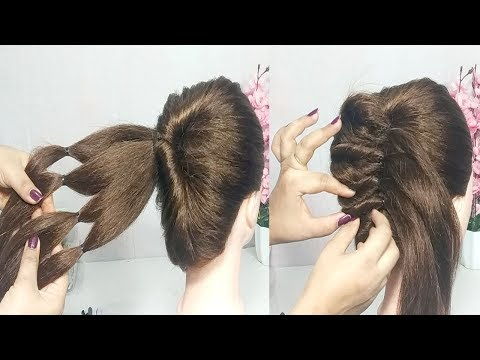5 minute french bun hairstyle trick | French Twist Hairstyle | French Hairstyles | hairstyles