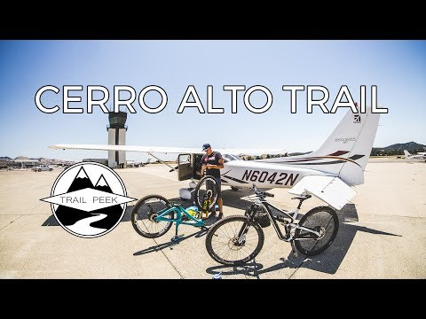 Flying High and Riding Blind! - Cerro Alto Trail - San Luis Obispo, California