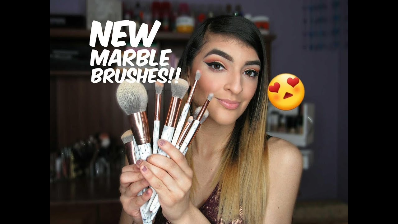 Marble Luxe 10 Piece Brush Set by BH Cosmetics #6