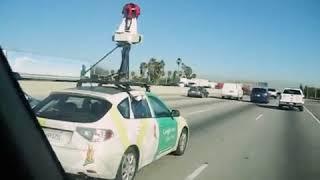 Google Mapsın Sokakları Kaydettiği Araba📷🚎