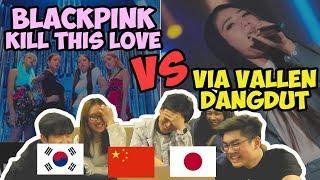 Download lagu BLACKPINK KPOP VS DANGDUT VIA VALLEN MENURUT ORANG LUAR NEGERI MP3