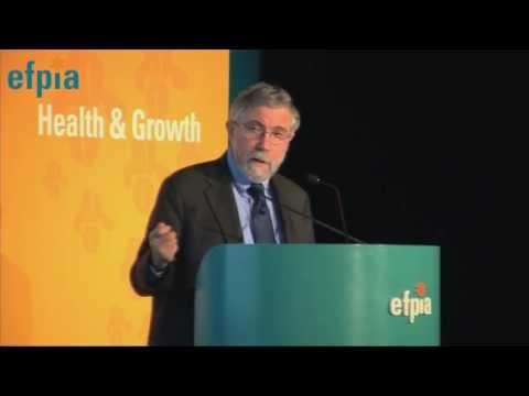 Efpia 2013 Annual Meeting - Paul Krugman, Keynote Speaker Nobel Prize Economist