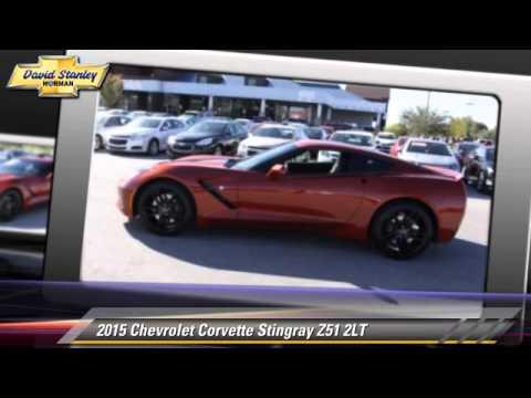 new 2015 chevrolet corvette stingray z51 2lt norman youtube. Black Bedroom Furniture Sets. Home Design Ideas