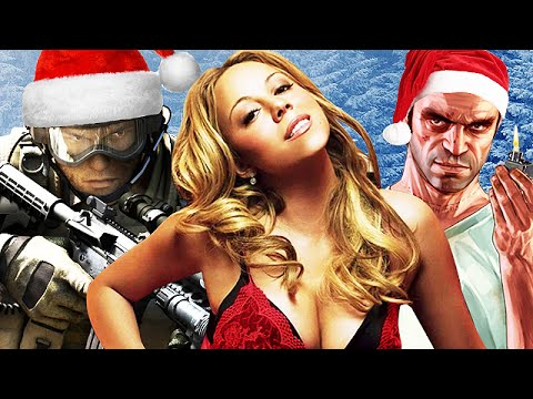♪ Mariah Carey  All I Want For Christmas Is You ♪ GAMING SONG PARODY