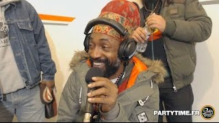 Lutan Fyah Interview & Freestyle at Party Time Reggae Radio Show - 10 JAN 2016