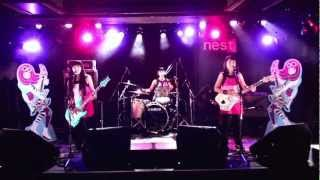 "Promotional video for Shonen Knife song ""Ghost Train."" Video taped ..."