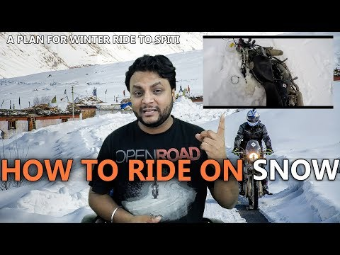how-to-ride-a-bike-on-snow-|-how-to-plan-for-winter-ride-to-spiti-|-snow-ride-|