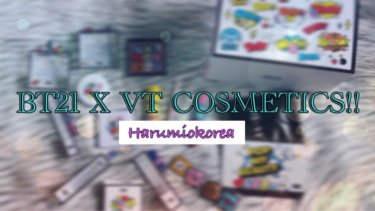 [UNBOXING] BT21 X VT Cosmetics (Lucky Random Box) | Announce Giveaway  Winners!!