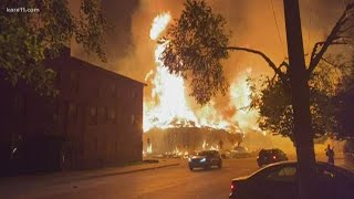 Fires burn in Mpls. overnight as protests continue