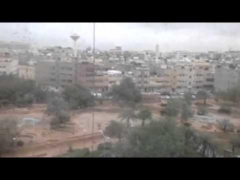 Still raining in riyadh area