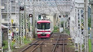 名鉄笠松駅/2300+1700/特急岐阜行 発車