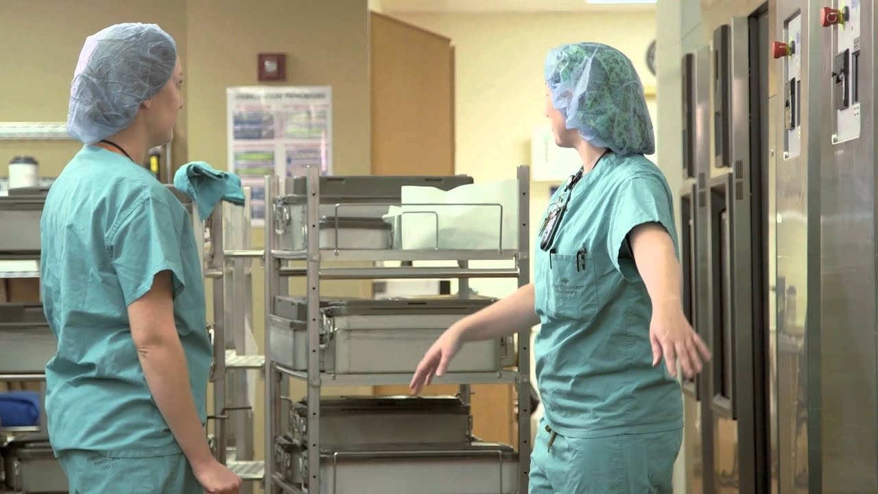 Central processing technician at intermountain healthcare youtube xflitez Image collections