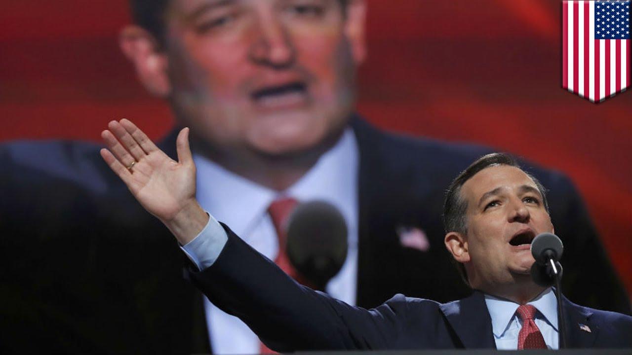 Ted Cruz RNC speech: Cruz refuses to endorse Trump, then ...
