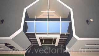 3D ролик «Стройка завода»