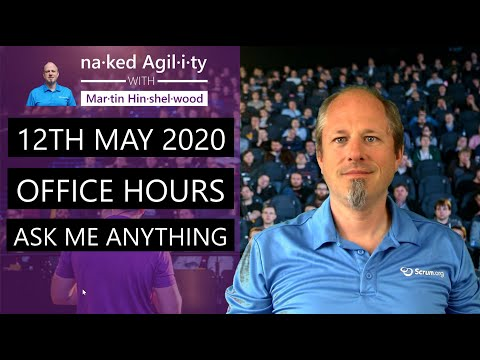 "<span class=""title"">12th May 2020: Office Hours \ Ask Me Anything</span>"