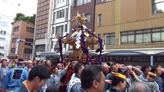 矢先稲荷神社例大祭2018 本社神輿渡御その1 thumbnail