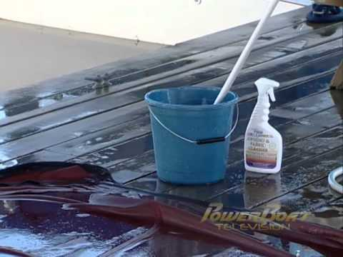 How To Clean and Maintain your Canvas - PowerBoat TV