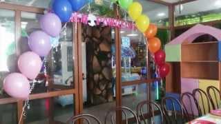 Оформление воздушными шарами день рождения детский Decoration with balloons birthday baby(, 2015-11-22T12:10:59.000Z)
