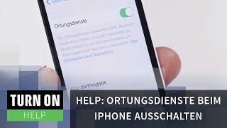 Ortungsdienste beim iPhone ausschalten - HELP - 4K
