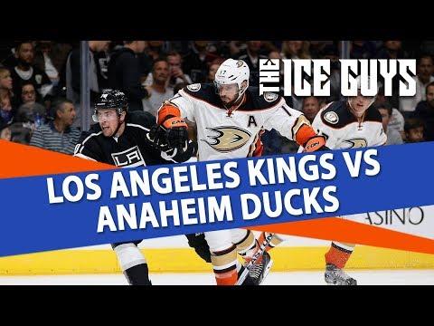NHL Betting | Los Angeles Kings vs Anaheim Ducks Preview & Free Picks | Ice Guys