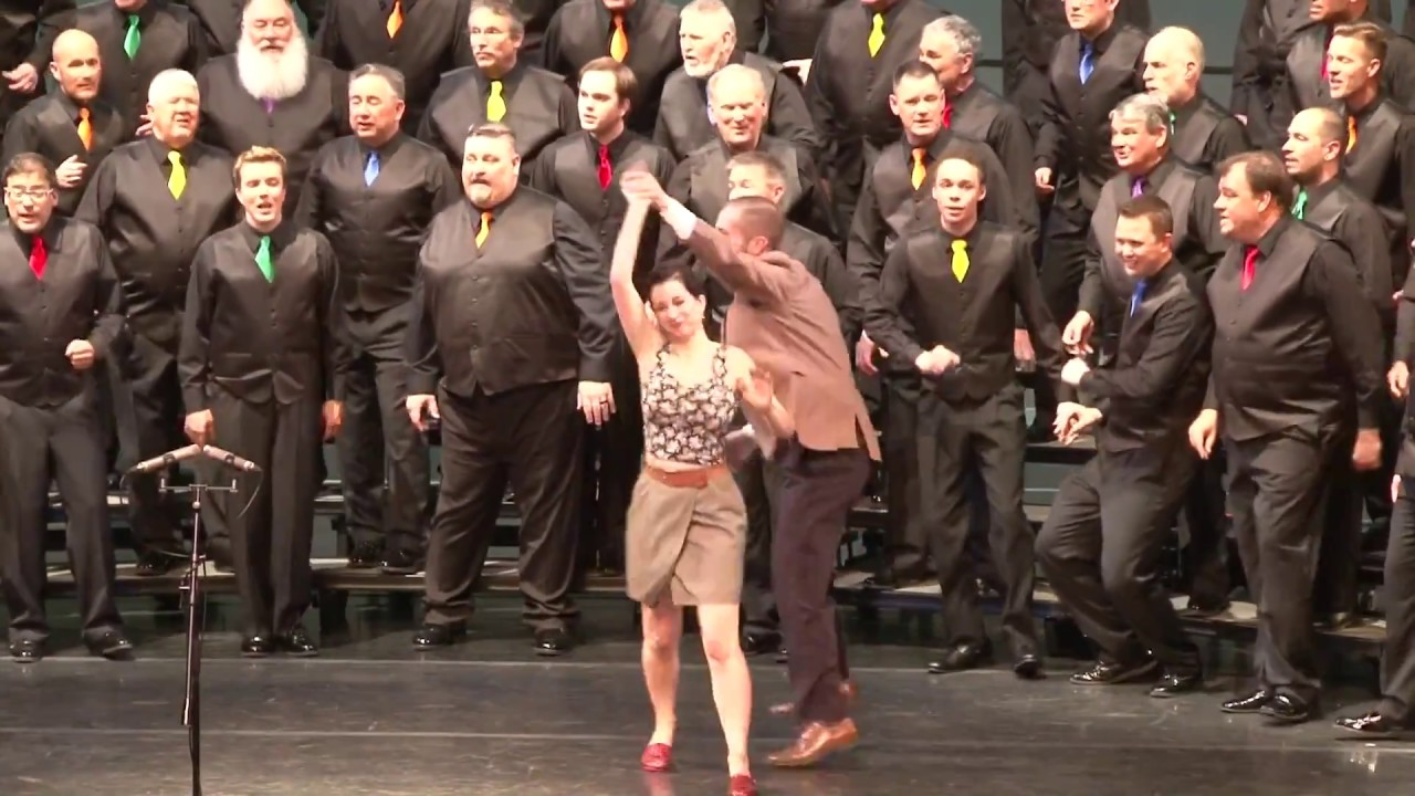 Swing Dance Lindy Hop Performance For In The Mood With Sound Of Rockies A Capella Chorus