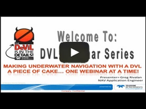Bottom Tracking and Water Profiling with your DVL