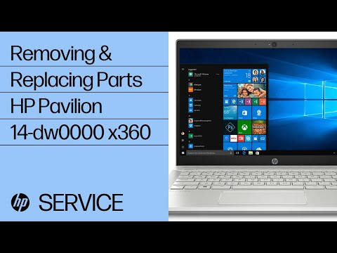 Removing & Replacing Parts | HP Pavilion 14-dw0000 x360 | HP Computer Service | @HPSupport