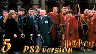 Гарри Поттер и Тайная Комната прохождение PS2-версия #5 Глючные полеты на метле