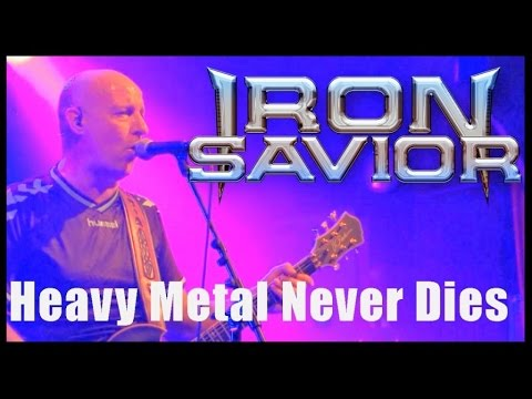 IRON SAVIOR - Heavy Metal Never Dies (LIVE) // official  clip // AFM Records