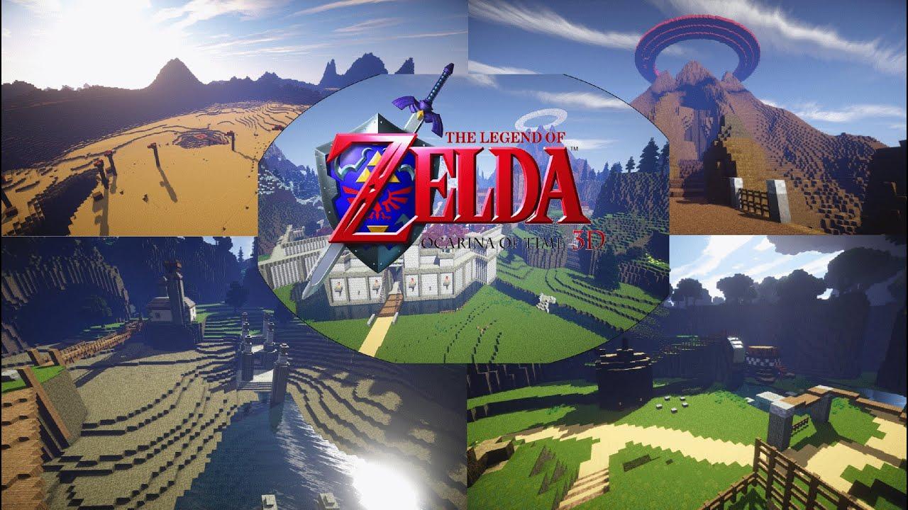 Ocarina Of Time 3d Wallpaper Minecraft Zelda Ocarina Of Time Trailer Hd 1080p Youtube
