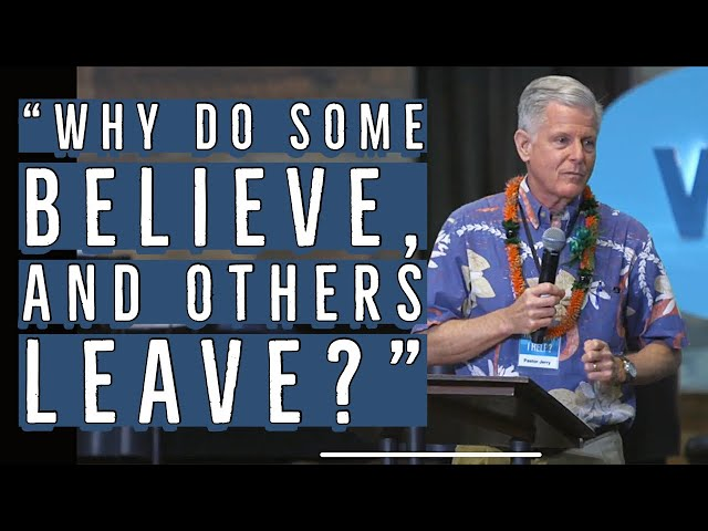 """6. Kaimuki Christian Church - """"Why Do Some Believe, and Others Leave?"""""""