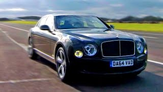 Bentley Mulsanne Speed. Fastest Limo In The World? - Fifth Gear