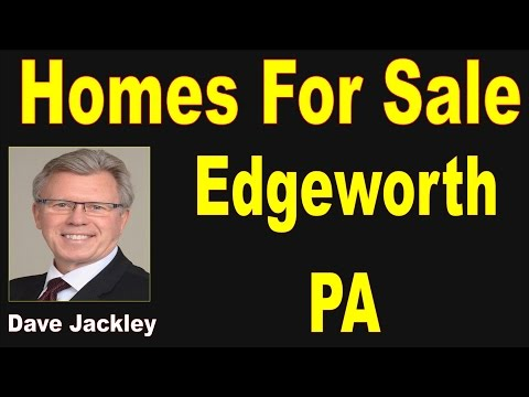 Homes For Sale Edgeworth PA