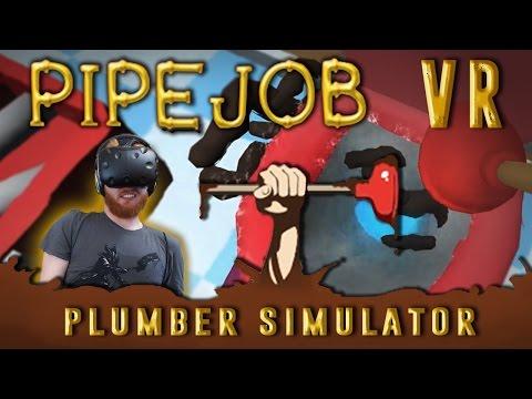 Pipejob: VR plumber simulator - Repair pipes and clean poop [HTC Vive]