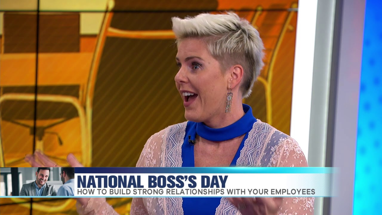 It's National Boss's Day. Here's how to have the best relationship with your boss
