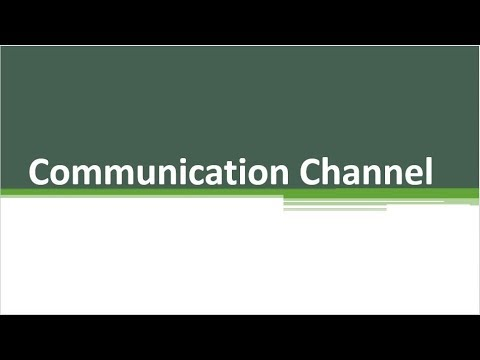 Communication Channels | Direction Of Communication