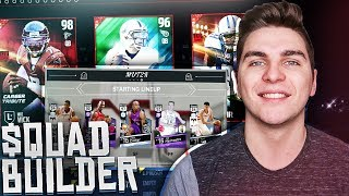 USING MADDEN TO BUILD MY SQUAD ON NBA 2K17!
