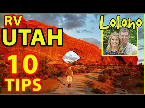 😍RV CAMPING IN UTAH -- 10 TIPS!!! (Moab, Arches, Canyonlands, Capitol Reef, Zion)