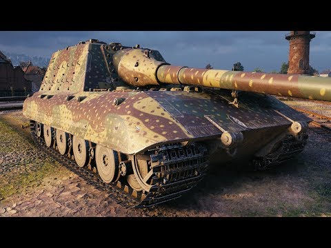 Jagdpanzer E 100 - BOSS OF THE CITY - World Of Tanks Gameplay