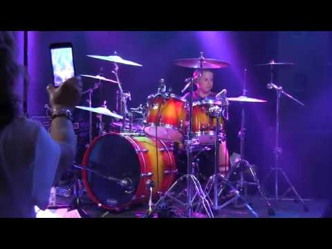 Avery Drummer solo with Time Bomb